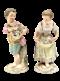Pair of Meissen figures - image 1