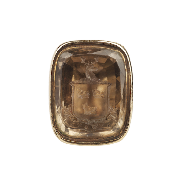 A Citrine Gold seal - image 1