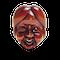 Wood mask Netsuke of Okame - image 1