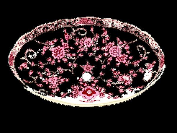Oval Meissen bowl - image 1
