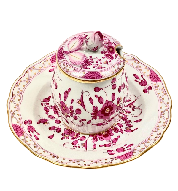 Meissen preserve pot and cover - image 1