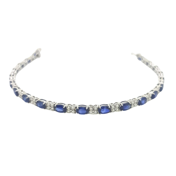 Sapphire and Diamond Bracelet - image 1