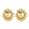 A pair of vintage Gold earrings by Asprey - image 1