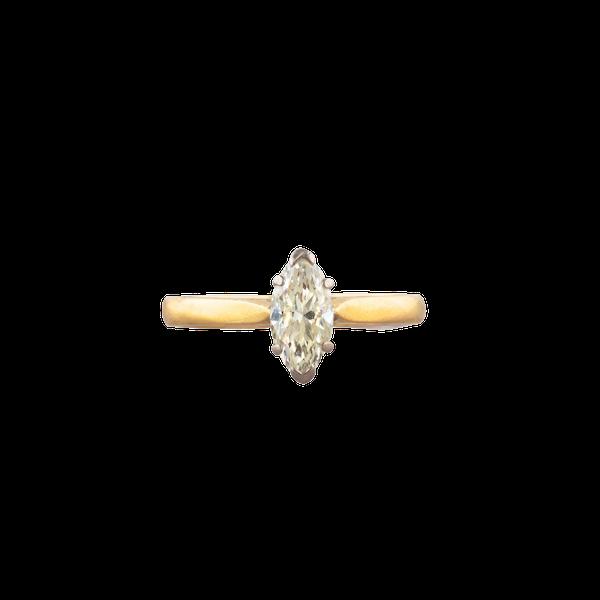 A Diamond Gold ring - image 1