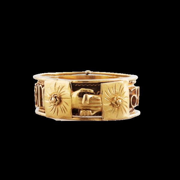 An Antique Masonic ring - image 1