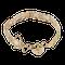 A Nine Carat Gold Padlock Bracelet - image 2