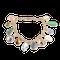 A Multi Stone Nine Carat Gold Bracelet - image 1
