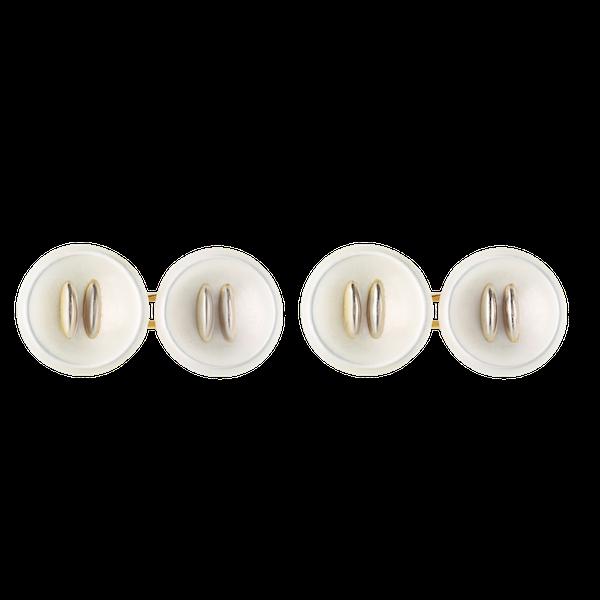 A pair of Austrian Button Cufflinks - image 1
