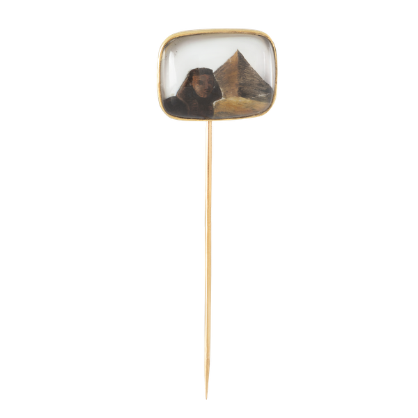 An Egyptian Rock Crystal Tie Pin - image 1