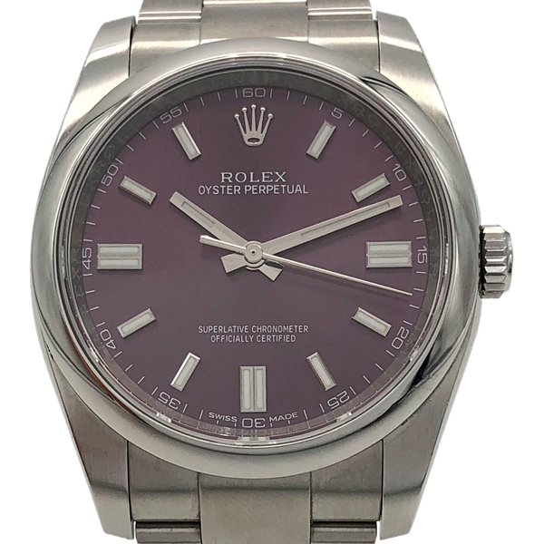 ROLEX OYSTER PERPETUAL RED GRAPE - image 1