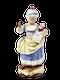 Meissen figure of girl - image 1