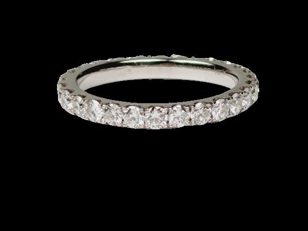 Diamond band ring sku 4862 DBGEMS - image 1