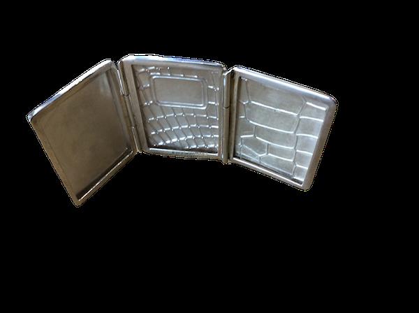 A silver triple frame - image 1