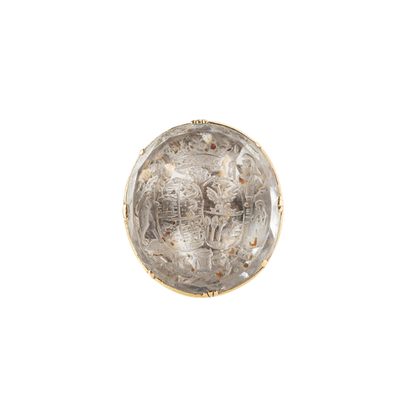 A Georgian Rock Crystal Seal - image 1