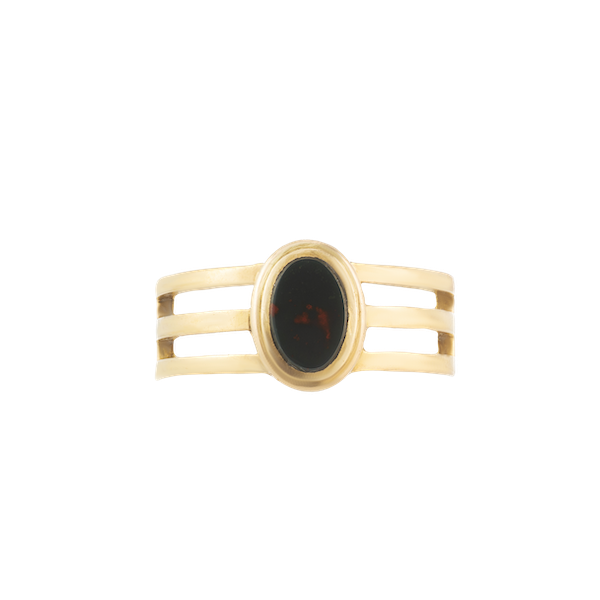 A Bloodstone Signet Ring by Edward Vaughton - image 1