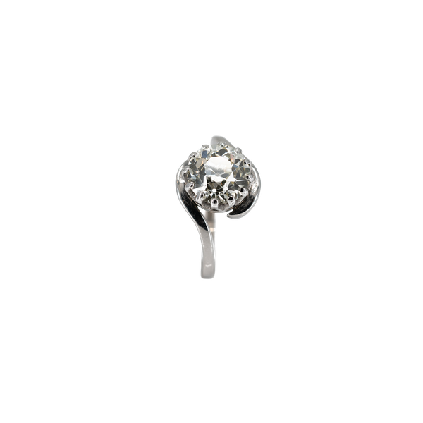 A Brilliant Cut Diamond Ring Offered by The Gilded Lily - image 1