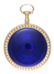 PEARL SET GOLD AND ENAMEL ENGLISH WATCH - image 1