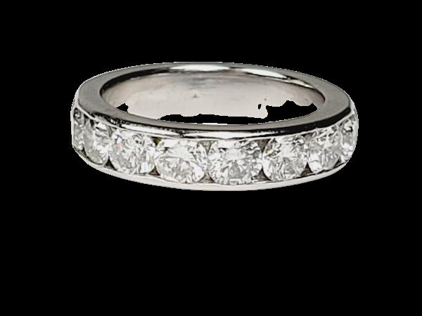 3.75ct diamond band sku 4906  DBGEMS - image 1