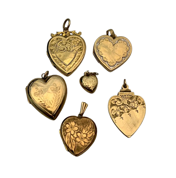 Heart gold lockets. Spectrum - image 1
