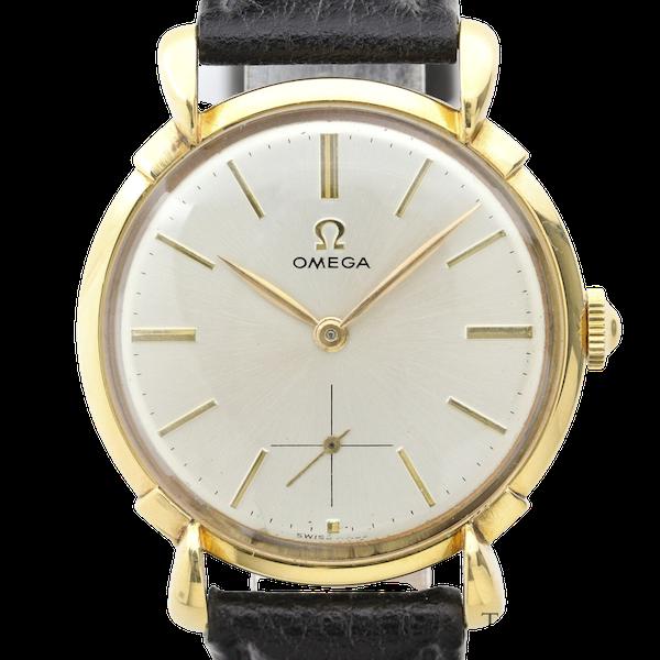Omega, 35mm, Vintage Watch, 18K Yellow Gold, Manual Winding, Circa 1950s - image 1