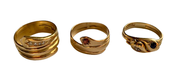 Snake rings in various designs available from Spectrum - image 1