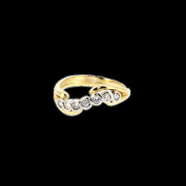 Diamond Twist Ring. S. Greenstein - image 1