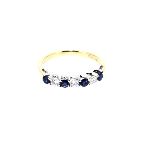 Sapphire And Diamond Ring. S. Greenstein - image 1