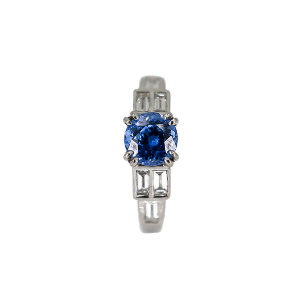 A Sapphire and Diamond Ring Offered by The Gilded Lily - image 1