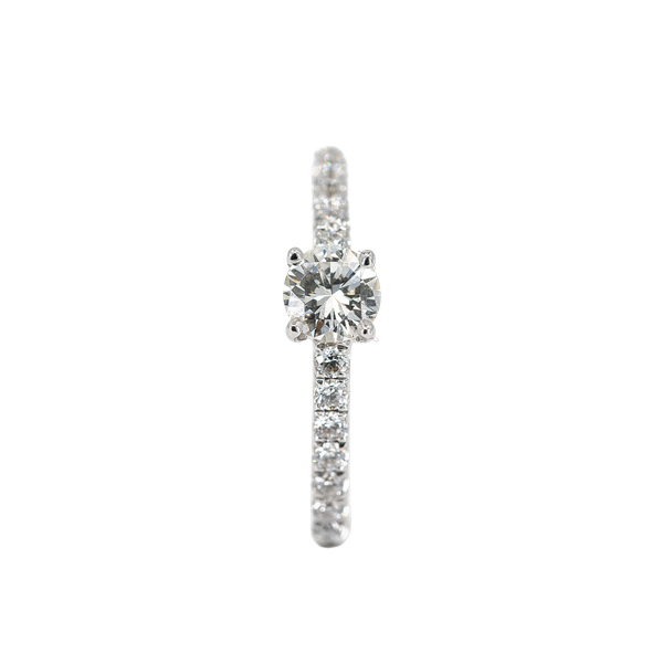 A One Third of a Carat Solitaire Diamond Ring Offered by The Gilded Lily - image 1