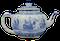 Japanese Arita blue and white teapot, Edo Period (1603-1868), early 18th century - image 1