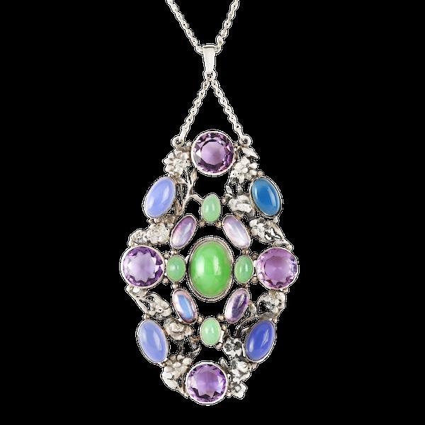 A Multi Stone Pendant by Amy Sandheim - image 1