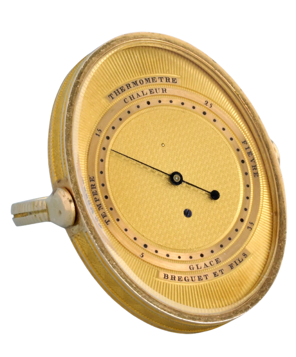 RARE GOLD RING THERMOMETER BY BREGUET - image 1
