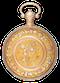FINE GOLD DECORATIVE ENGLISH DUPLEX - image 1