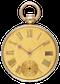 GOLD QUARTER REPEATING DUPLEX - image 1