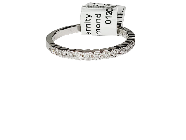 Half hoop diamond ring sku 4922  DBGEMS - image 1