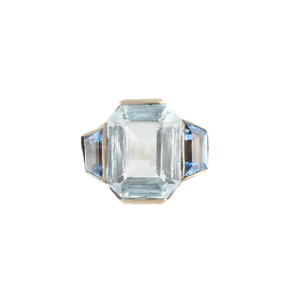A French Silver Paste Ring - image 1