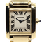 Cartier Tank Francaise Small Model 18k Yellow Gold 20mm Ref. 2385. Ladies - image 1