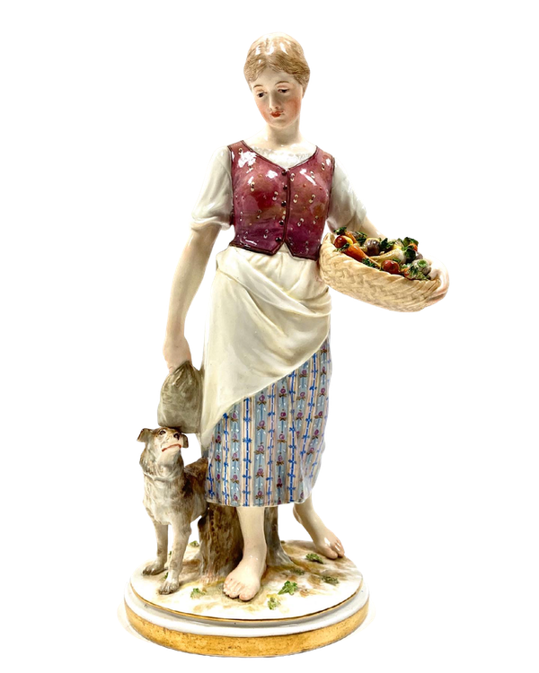 Meissen Art Nouveau figure - image 1