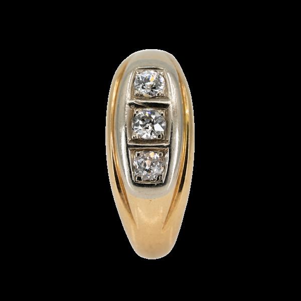 Gents/ladies 3 stone diamond ring - image 1