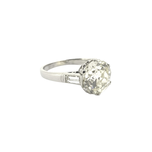 2.87 carats Solitaire Diamond Ring - image 1
