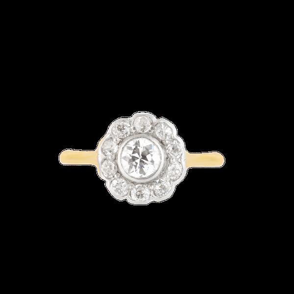 An Antique Diamond Ring - image 1