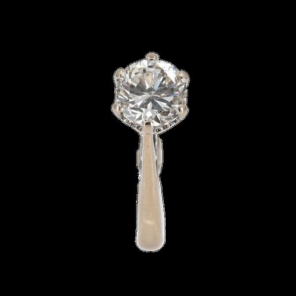 Diamond solitaire ring, 1.1 ct est. - image 1