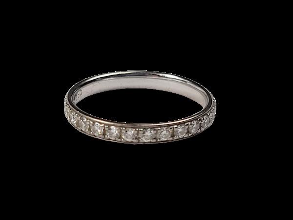 Modern diamond band sku 4942  DBGEMS - image 1