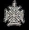 Maltese cross sku 4947  DBGEMS - image 1