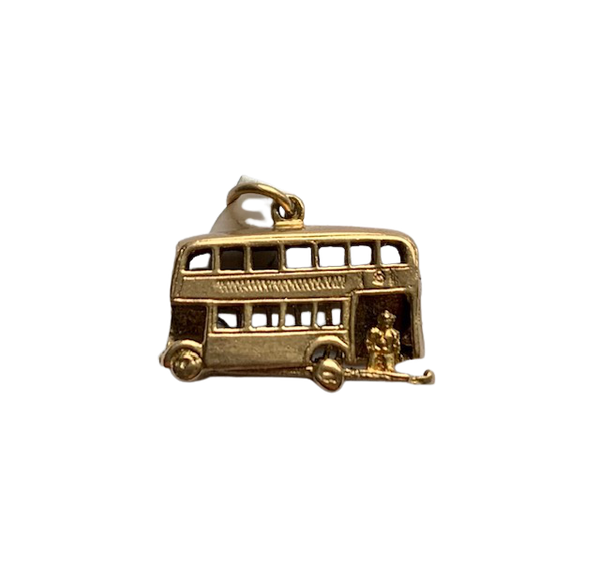 London opening bus 9ct charm. Spectrum - image 1