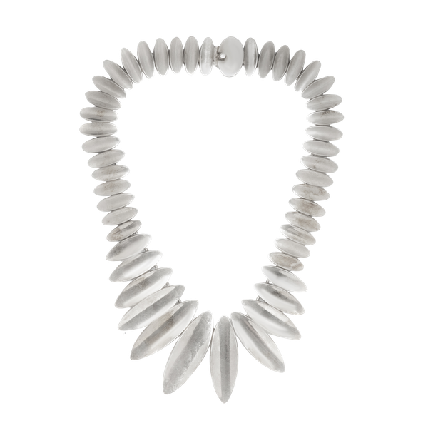 A Mexican Silver necklace - image 1