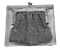 Silver small purse with medal - image 1