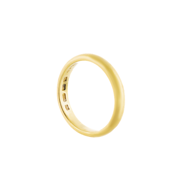 A 22ct Gold Wedding ring - image 1