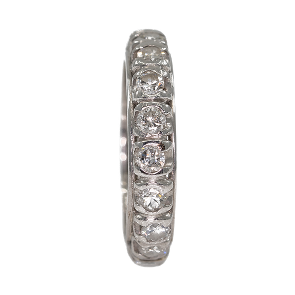 Diamond full eternity ring - image 1