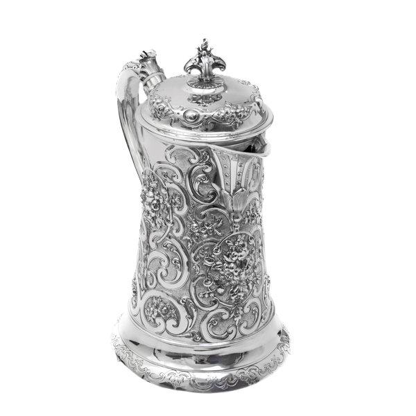 Silver tankard by Robert Hennell - image 1